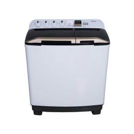 Toshiba Twin Tub Washing Machine 10 kg White, VH-K110WBB